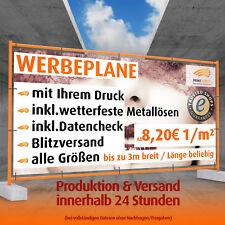 Werbebanner Werbeplane LKW Plane PVC Plane Banner Digitaldruck Werbeplakat NEU