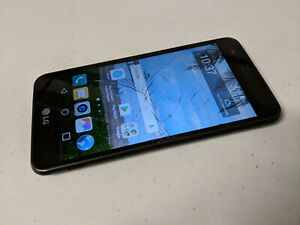 LG Rebel 2 L57BL - 8GB - Gray (Straight Talk) Android Smartphone - AS IS