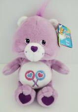 "Care Bears Share Bear 2002 8"" New NWT Plush Stuffed Animal Lollipops Play Along"
