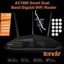 Tenda® AC1900 Smart Dual-Band Gigabit WiFi Router NBN Ready Faster Speed