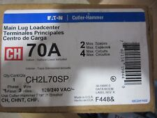 Eaton Cutler-Hammer CH2L70SP Main Lug Load Center 2P 70A 120/240V NEW!!! in Box