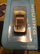 NOKIA 6111 HOUSING / Fascia/ Case COMPLETE WITH KEY AND BACK COVER Black