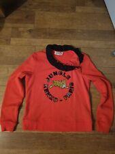 Ladies Kenzo X Hm Orange Jumper Size M-new