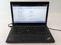 Lenovo ThinkPad T440 Touchscreen Laptop i5 4th Gen. 128GB SSD 8GB No OS/AC ***