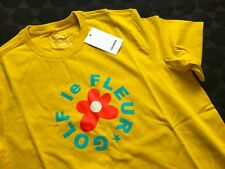 Converse x Golf Wang Le Fleur T-Shirt, Yellow, Size L