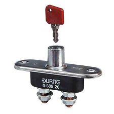 Battery Isolator Switch With Removable Key On/Off positions
