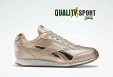 Reebok Royal Cl Jog Oro Rosa Scarpe Shoes Donna Sportive Sneakers FV1523 2020