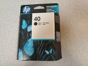 Genuine HP Black Print Cartridge 40 Expired 51640A