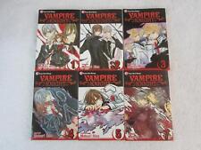Lot of 6 Matsuri Hino VAMPIRE KNIGHT Shojo Beat Viz Media English Manga 1-5 & 7