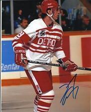 "DOUG CROSSMAN Autographed Signed 8"" x 10 Photo Detroit Red Wings COA"