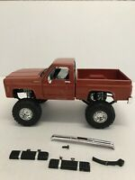 So Real Concepts Chevy Silverado 1/24 Scale 4X4 Monster Truck Die Cast Read !!