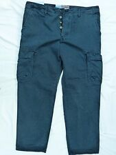 LEE COOPER MENS NAVY CASUAL CARGO TROUSERS IN NEW CONDITION! W30 L32