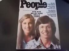 Billie Jean King, Chris Evert, Helen Reddy - People Magazine 1975
