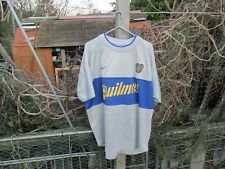 More details for nike ca boca juniors 2000 3rd third (m) medium football shirt #10 roman riquelme