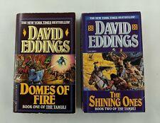The Tamuli Books 1 and 2 David Eddings Domes of Fire The Shining Ones [PB]