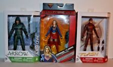 DC Collectables Multiverse Arrow Flash & Supergirl CW TV series Figures LOT