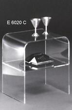 NEU! Beistelltisch  Transparent mit Ablagefach  ,   aus Acrylglas