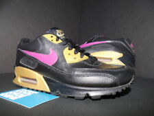 2006 NIKE AIR MAX 90 CL GS BLACK RAVE PINK GOLD DAY 1 312153-062 4Y