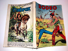 bd RODEO N° 182 TEX WILLER  5-10-1966 LUG  miki le ranger