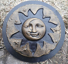 Eclipse mold with stars concrete plaster mould
