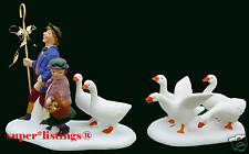 Dept. 56 Xii Days of Dickens Six Geese A-Laying S/2 New 58382 Factory Sealed