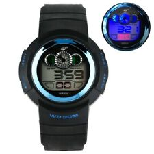 Mens Watch Military Sport Army Led Digital Electronic Watch Silicone Band Gift