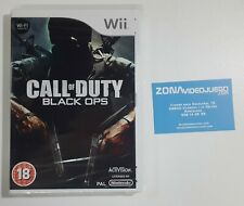 Call of Duty Black Ops, Nintendo Wii, Pal-Eur. Nuevo.