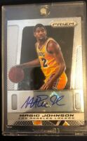 2013-14 Panini Prizm Los Angles Lakers Magic Johnson Autograph Auto