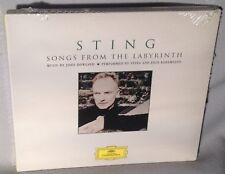 CD STING Songs From The Labyrinth (DIGIPAK 2006) NEW MINT SEALED