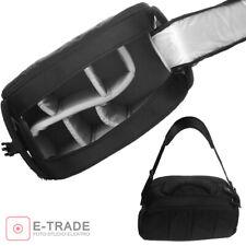 Schultertasche Kameratasche mit Flexibel Kamera Einsatz Trennung Gepolstert