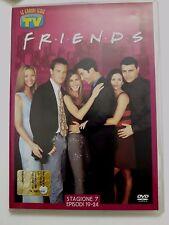 DVD Film Friends Le grandi serie Tv Sorrisi e Canzoni Stagione 7 Episodi 19-24