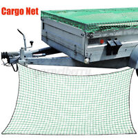 Cargo Net Strong Heavy Duty Netting Garden Scramble Car Trailer Skip Truck  US