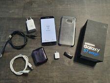 SmartPhone Samsung Galaxy S7 Edge Black Onyx 32GB SM-G935F PERFETTO + Accessori