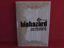 RESIDENT EVIL Biohazard archives encyclopedia art book