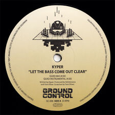 "Miami Bass: KYPER & DEBONAIRE ""Let The Bass Come Out Clear"" 80s old school vinyl"