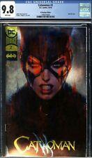 Catwoman #2 CGC 9.8 Gold Foil Artgerm Boutique Variant Cover DC