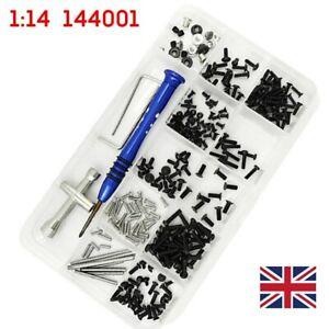 UK RC Car Repair Tool & Screws Nuts Tools Kit Fit for Wltoys 1:14 144001 New