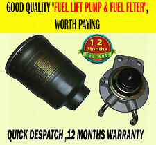 FOR MITSUBISHI PAJERO SHOGUN 2.5 2.8 87-00 FUEL DIESEL LIFT PUMP PRIMER & FILTER