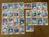 1984 ATLANTA BRAVES Topps COMPLETE Baseball Team Set 29 Cards MURPHYx3 NIEKRO