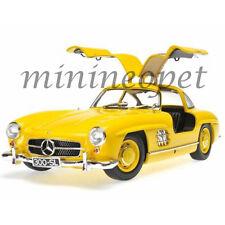 MINICHAMPS 180039009 1954 54 MERCEDES BENZ 300 SL GULLWING W198 I 1/18 YELLOW