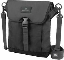 Victorinox Flapover Unisex Medium Black Nylon Digital Bag 32389201