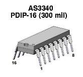 [ 10 pcs ] AS3340 VCO (eq. CEM 3340) - ALFA RPAR