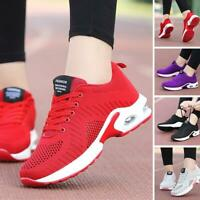 Chaussures de sport à coussin d'air pour femme Mesh Athletic Chaussures