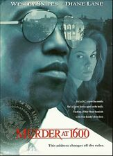 Brand New DVD Murder at 1600 (Snap Case Packaging) Wesley Snipes Diane Lane