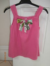 Girls' 100% Cotton Sleeveless T-Shirts, Tops & Shirts (2-16 Years)
