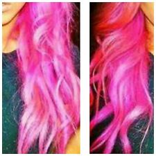"""Colour Pink -  Tape Hair Extension - 20"""" - 5A Quality"""