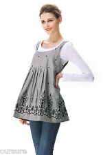 US Brand RF Shields Anti-Radiation Maternity Tank Vest with Fabric Defects