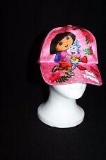 Nickelodeon Dora the Explorer Boots Best Friends Pink Child Girl Adjust Cap Hat