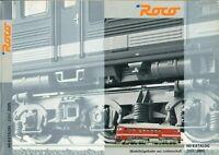 ROCO - HO Katalog Broschüre Modelleisenbahn 2004 2005 - B18339