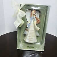 Foundations by Enesco Sister Figurine Angel Religious Christian Gift 2007 - New